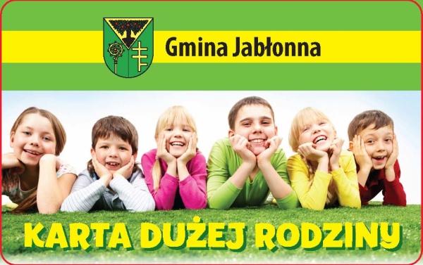 Karta Dużej Rodziny Gmina Jabłonna Powiat Legionowski